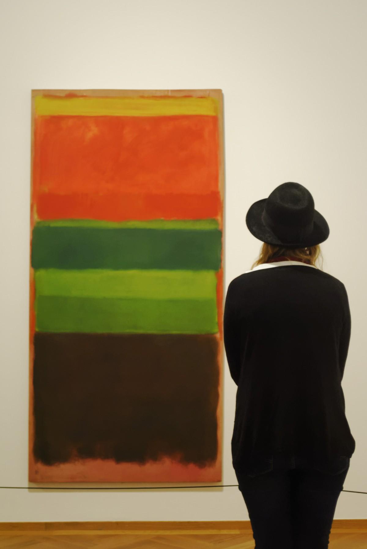 Expositie Rothko in Gemeentemuseum