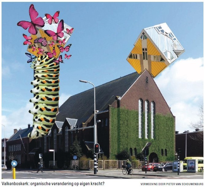 De Valkenboskerk is nu al onsterfelijk