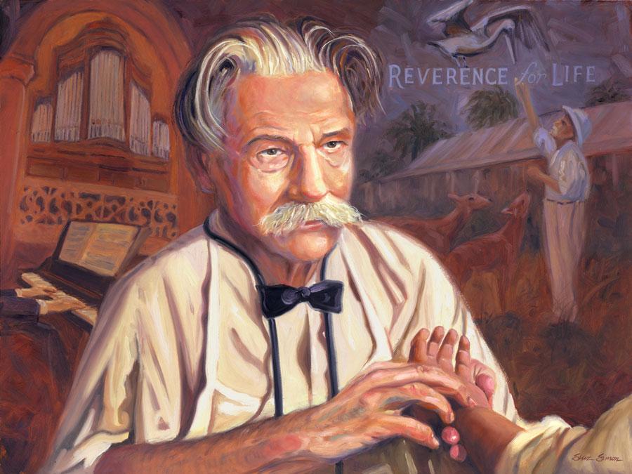Verse theologie: mystieke ethiek van Albert Schweitzer