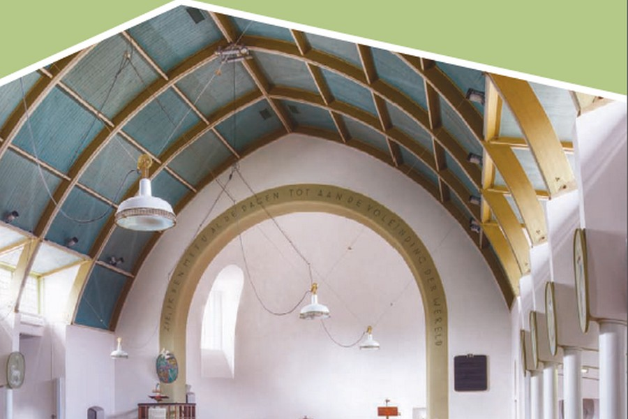 Een jubilerende 'noodkerk' in Duinoord