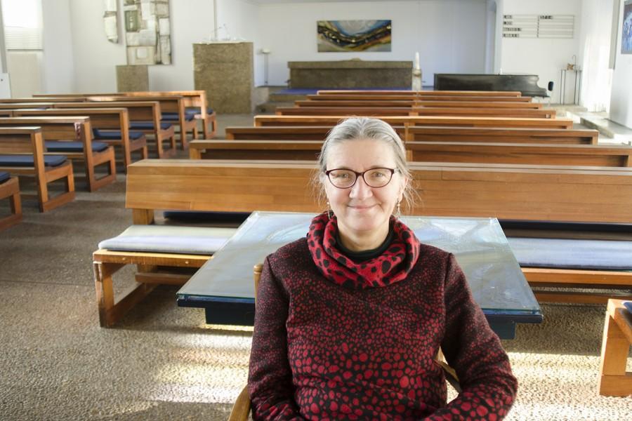 Marieke Stoel veertig jaar in Houtrustkerk